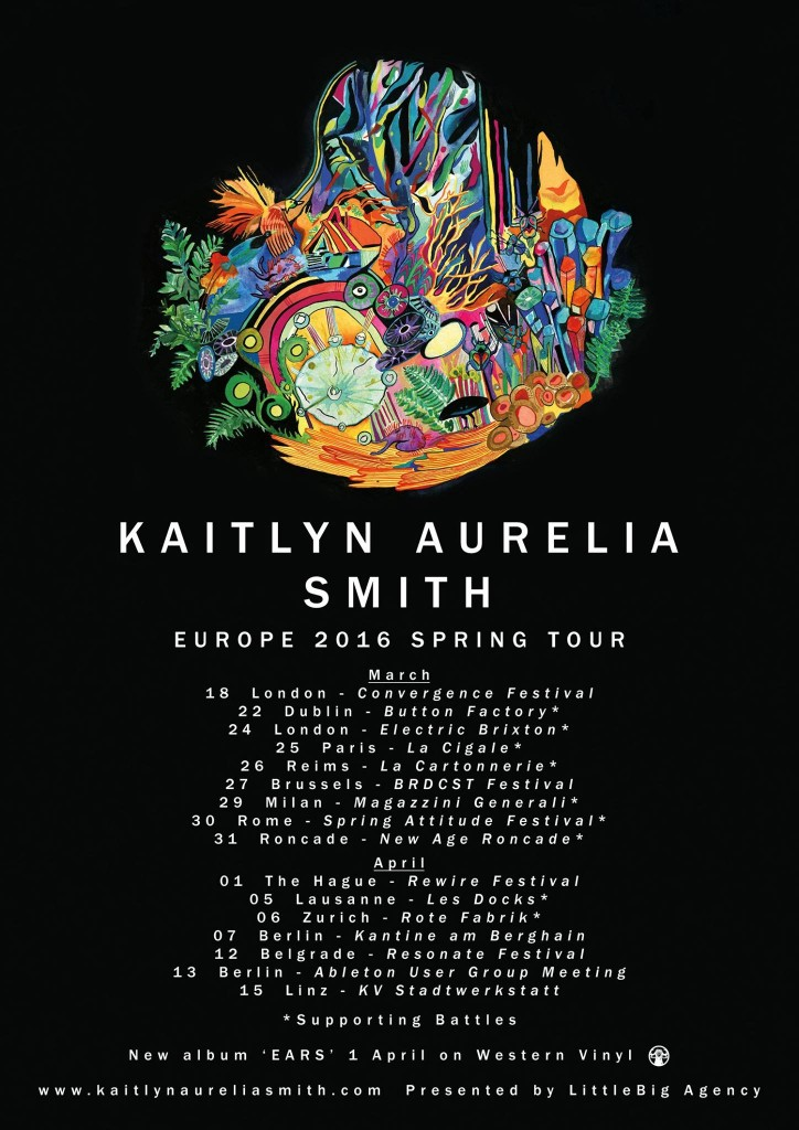 Kaitlyn Aurelia Smith tour